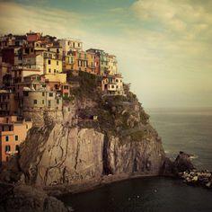 Manarola in the Cinque Terre region of Italy.