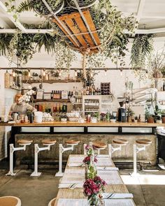 going to New York this week which means finding time for a thebutchersdaughterofficial smoothie and avocado toast butchersdaughter eatgreen newyorkeats interiorgoals westcoastmeetseastcoast by mbkimchi Cafe Restaurant, Bohemian Restaurant, Bar Restaurant Design, Bakery Interior, Coffee Shop Interior Design, Coffee Shop Design, Cozy Cafe Interior, Cozy Coffee Shop, Coffee Shops