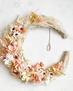 Happy March, Happy Tuesday, Amanda, Whimsical, Floral Wreath, Give It To Me, Wreaths, Halloween, Smiley Faces