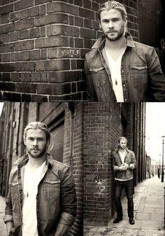 Chris Hemsworth wow