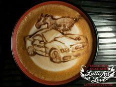 Mustang Humor, Latte Art, Breakfast, Food, Morning Coffee, Essen, Meals, Coffee Art, Yemek