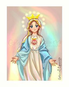Blessed Mother Mary, Divine Mother, Blessed Virgin Mary, Kids Routine Chart, Catholic Gentleman, Bible Humor, Mary And Jesus, Holy Spirit, Coloring Books