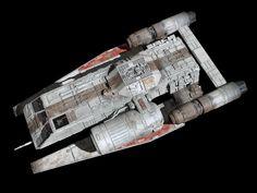 Nave Star Wars, Star Wars Rpg, Star Wars Ships, Lego Star Wars, Spaceship Interior, Lego Spaceship, Maquette Star Wars, Star Wars Spaceships, Starship Concept
