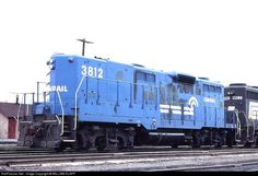 CONRAIL QUALTY RAILWAY - 3812 - EMD GP9B em Rutherford, Pensilvânia por WILLIAM KLAPP