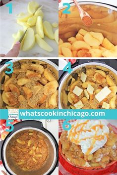 Instant Pot: Cinnamon Apples Desserts For A Crowd, Fall Desserts, No Bake Desserts, Delicious Desserts, Great Desserts, Dessert Recipes, Yummy Food, Party Recipes, Pressure Cooking Recipes
