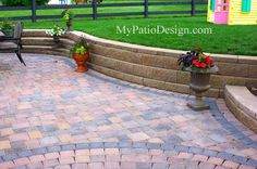 patios with retaining walls | retaining walls adding a short retaining wall around your paver patio ...