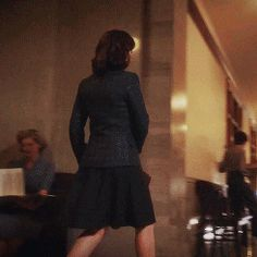 Peggy Carter doesn't have super powers or special serum. She just hits as hard as she can. She's a BA.