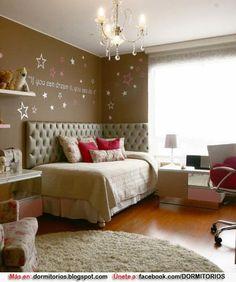 DORMITORIO JUVENIL MUJER : Dormitorios: Fotos de dormitorios Imágenes de habitaciones y recámaras, Diseño y Decoración