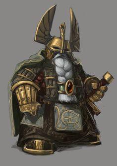 Men in fantasy art — haaaaaaaaave-you-met-ted:   Dwarf Warrior by...