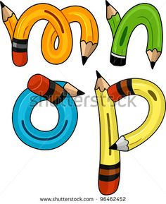 Stock Images similar to ID 34244659 - illustration of a alphabets on...
