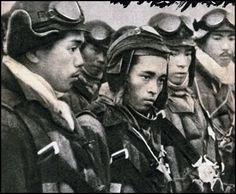 Kamikaze, or tokko-tai, preparing to leave.