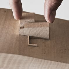 Model - make neighbouring items out of blocks of neutral materials of colours (eg grey or black)