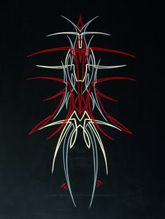 pinstriping | Pinstriping - Ink Trails Tattoo Forum