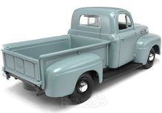 Other Diecast :: Diecast Trucks :: 1:24 Scale :: 1948 Ford F1 Pickup 1:24 Scale - Maisto Diecast Model (Grey) -