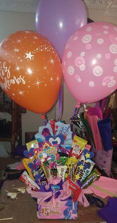 Candy Bouquet, Cool Diy, Diy And Crafts, Pastel, Snacks, Birthday, Cake, Ideas Para, Diy Ideas