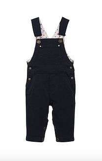 Petit Bateau Baby Boy Overalls in Blocked Jersey $92