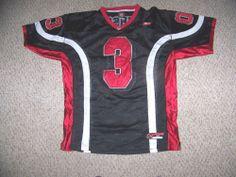 ALLEN IVERSON #3 Philadelphia 76ers Football Style Jersey -- L by Reebok