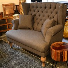 Vintage Sofa | Wood Factory - Vintage Industrial Shabby Chic