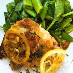 No basic chicken dinners allowed. Get the Recipe: Lemon Garlic Pan-Roasted Chicken Thighs with Spinach and Snap Peas