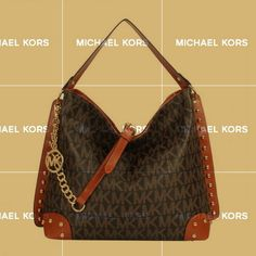 Free Shipping And Best Service On Our Michael Kors Serena Large Coffee Shoulder Bags For You All The Time!