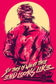 So this is what the end looks like. Hotline miami