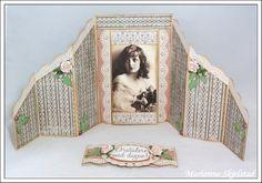 Marianne's paper world .: Double zig zag card - Tutorial