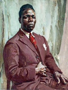 Half-Length Portrait of a Black Man by William Charles Penn