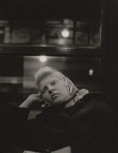MoMA | Walker Evans. Subway Portrait. from the series Subway Portraits. 1938–41: