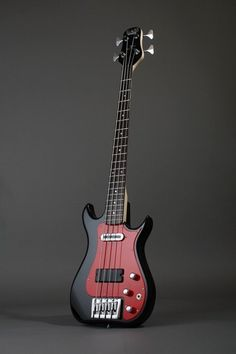"Bass Centre's short-scale (30"") 'Bill Wyman' Signature Bass"