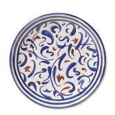 Bastille Melamine Salad Plates, Set of 4