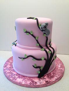 Koala Shower Cake | Flickr - Photo Sharing!