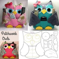owl crafts for preschoolers . owl crafts for kids . owl crafts for toddlers . owl crafts for adults . owl crafts for kids to make . Owl Sewing Patterns, Owl Crochet Patterns, Crochet Ideas, Pattern Sewing, Sewing Toys, Sewing Crafts, Sewing Projects, Sewing Ideas, Crochet Crafts