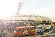 40 Montreal Food Trucks Will Be Taking Over The Olympic Stadium Park Today