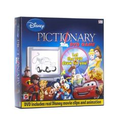 Disney Pictionary DVD Board game