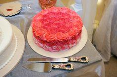 Bride's side cake