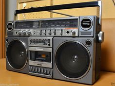 National Panasonic RX 5160 Vintage Boombox Ghettoblaster 1981 Radio Old School | eBay