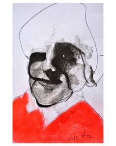 "Polubienia: 709, komentarze: 6 – wojciech sosidko (@w_sito) na Instagramie: ""the face that sold a million bars, charcoal on paper, A4. . . It's available DM/@ for info . . #art…"""