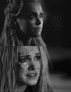 I'm drowning | Clarke Griffin | The 100