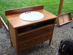 How-To: Dresser to Vanity