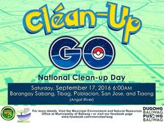 BaliwageNews: Clean Up GO! National Clean-up Day