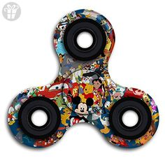 BROOKE LEWIS Fidget Spinner Disney Characters Hand Spinner Toy Premium Hand Toy For Kids Adults Perfect For Giving Up Smoking Killing Time ADD ADHD - Fidget spinner (*Amazon Partner-Link)