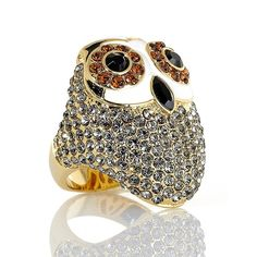 """""""HOO"""" else loves this Owl Ring? #jewelry #ring"""