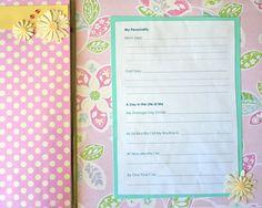 DIY Baby Book