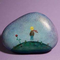 #littlePrince #khachikYana #oil #painting #stones #paintedstones #handpainted #handmade