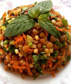 Kuskuslu Yeşil Mercimek Salatası #kuskusluyeşilmercimeksalatası #salatatarifleri #nefisyemektarifleri #yemektarifleri #tarifsunum #lezzetlitarifler #lezzet #sunum #sunumönemlidir #tarif #yemek #food #yummy
