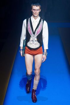 Gucci Spring 2018 Menswear Fashion Show - Jack Chambers