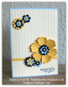 Flower Sparkle: Five SU! Make & Take Cards