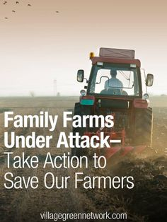 So sad. I hope this does not happen to us when we establish our home. Family Farms Under Attack — Take Action to Save Our Farmers