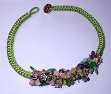 Bead Pattern - Tangled Garden (could do this with kumi)