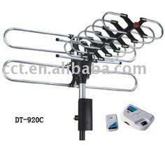 Infra Red Remote Control Outdoor Tv Antenna With Amplifier And Rotating Antenna Buy Tv Antenna Rotating Antenna Outdoor Antenna Product On Alibaba Com